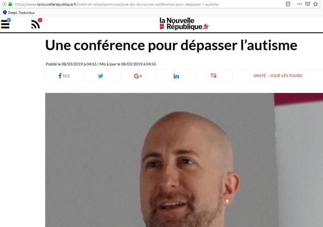 Article 8 mars 2019 - Joué-les-Tours © La Nouvelle République