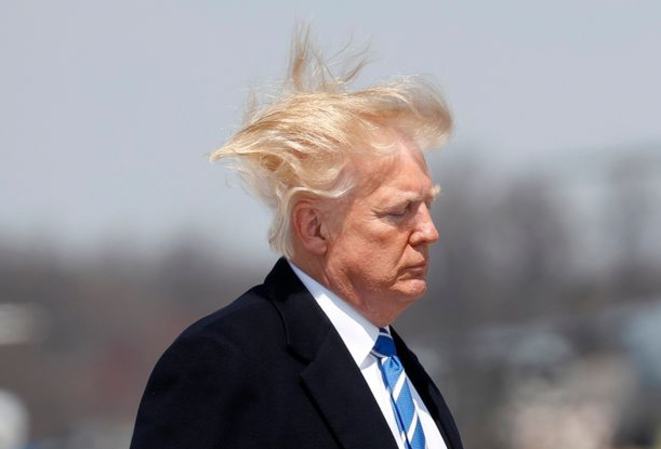 Donald Trump, le président américain, a recours au finastéride © Reuters