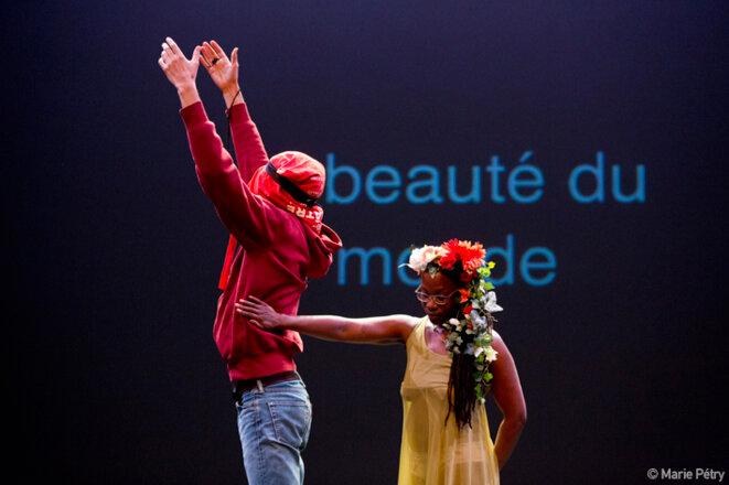 """Scène de """"Orphée aphone"""" © Marie Pétry"""