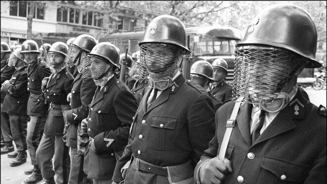 police-8-mai-1968