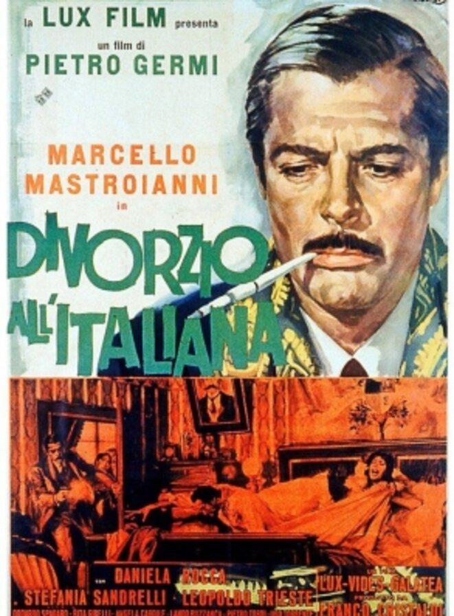 Divorzio all'Italiana de Pietro Germi (1961), est centré sur un délit d'honneur en Sicile
