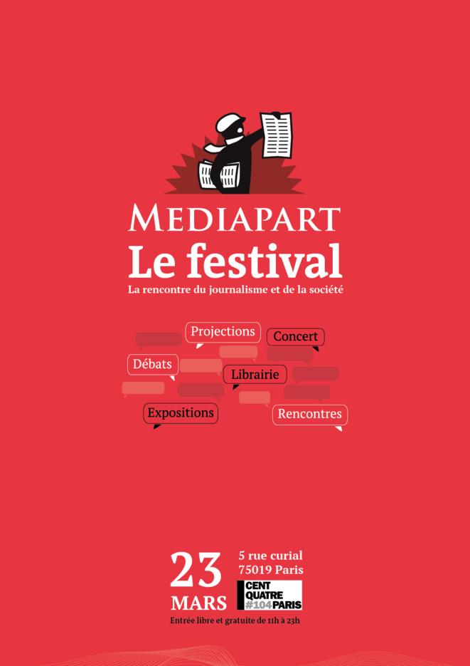 L'affiche du Festival des onze ans