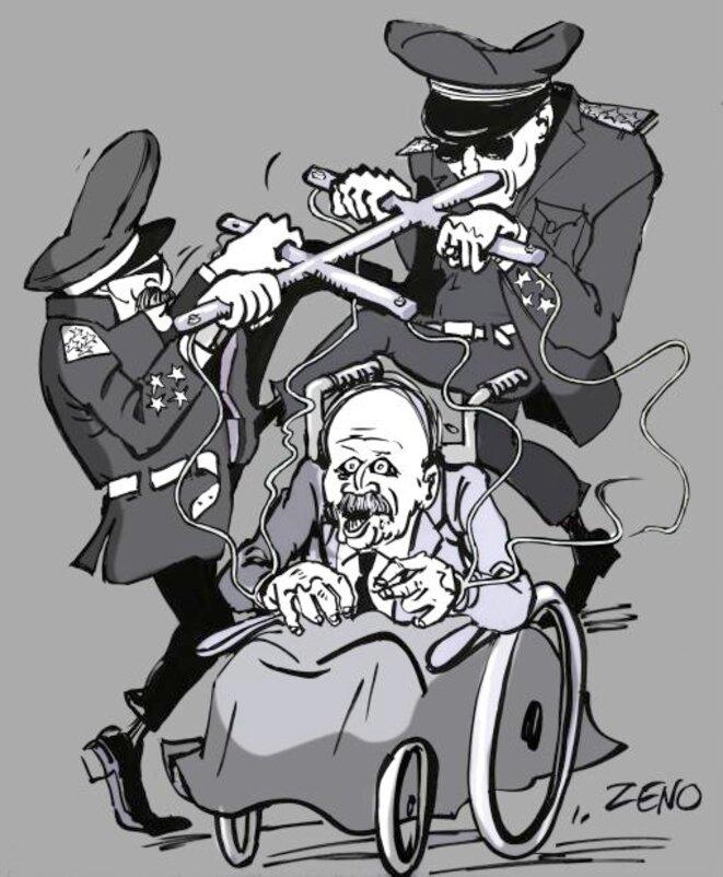 Bouteflika: lever de rideau © zeno