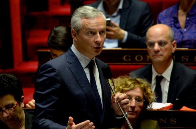 Bruno Le Maire à l'Assemblée nationale. © LCP