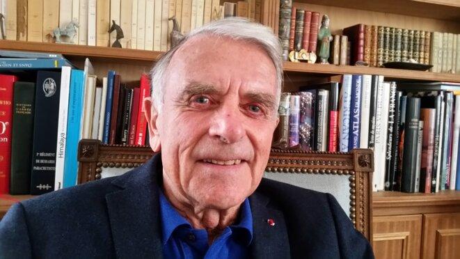 Le général à la retraite Jean Varret. © Benît Collombat, de la cellule investigation de Radio France