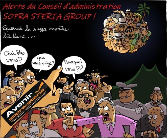 le syndicat AVENIR alerte le conseil d'administration © Syndicat AVENIR sopra steria