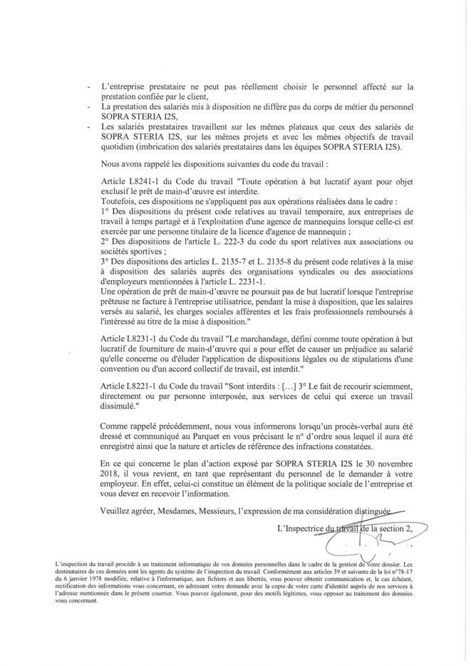 preuve entreprise en péril © Syndicat AVENIR sopra steria