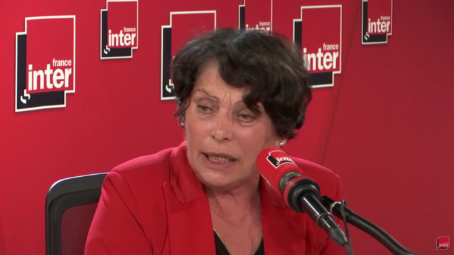 Michèle Rivasi le 9 mars 2019 © copie d'écran France Inter