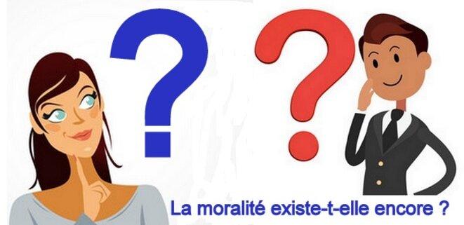 La moralité existe-t-elle encore ? © Pierre Reynaud