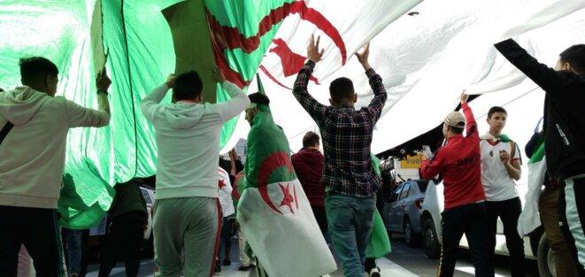 Marche à Alger, le 15 mars. © Adlène Meddi