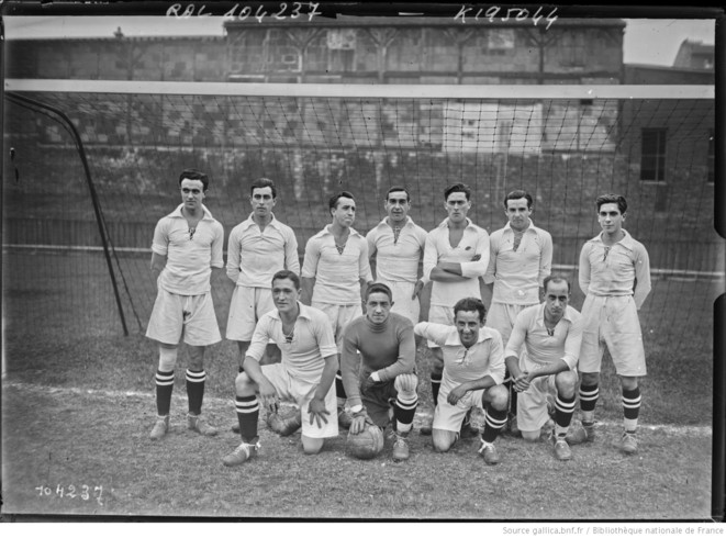L'équipe du Real Madrid, le 17 Septembre 1925
