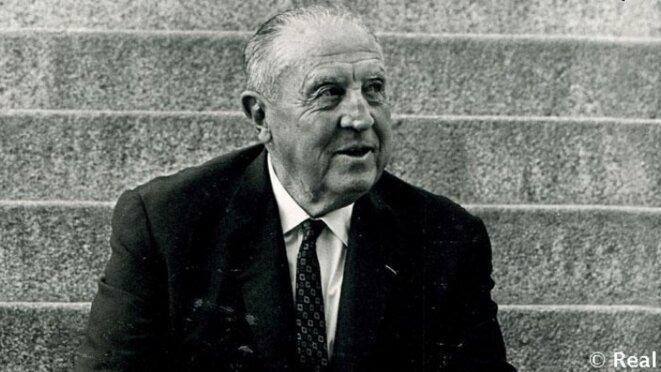 Santiago Bernabéu, président du club de 1943 à 1978