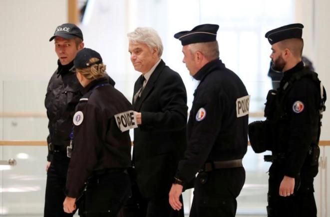 Bernard Tapie le 14 mars au tribunal de Paris © Reuters