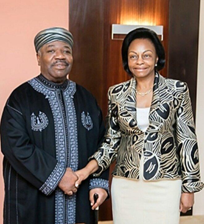 Ali Bongo et Marie-Madeleine Mborantsuo dans un ridicule jeu de dupes