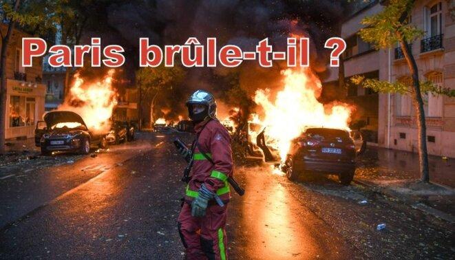 Paris brûle-t-il ? © Pierre Reynaud