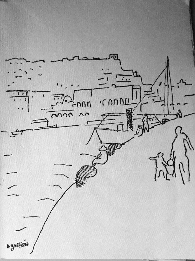 Galliéro, port d'Alger © Galliéro