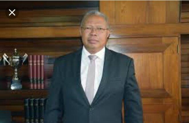 Lantoniaina Rasoloelison, ancien ministre de l'énergie et des hydrocarbures, proche du Président Rajaonarimampianina.