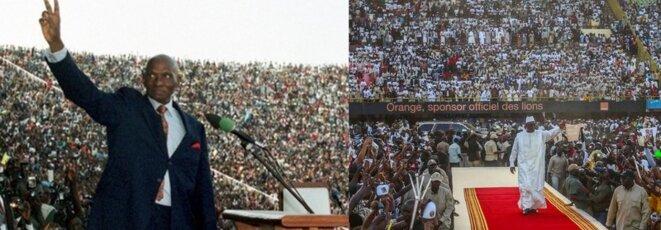 Le président Macky et son prédécesseur Me Abdoulaye Wade