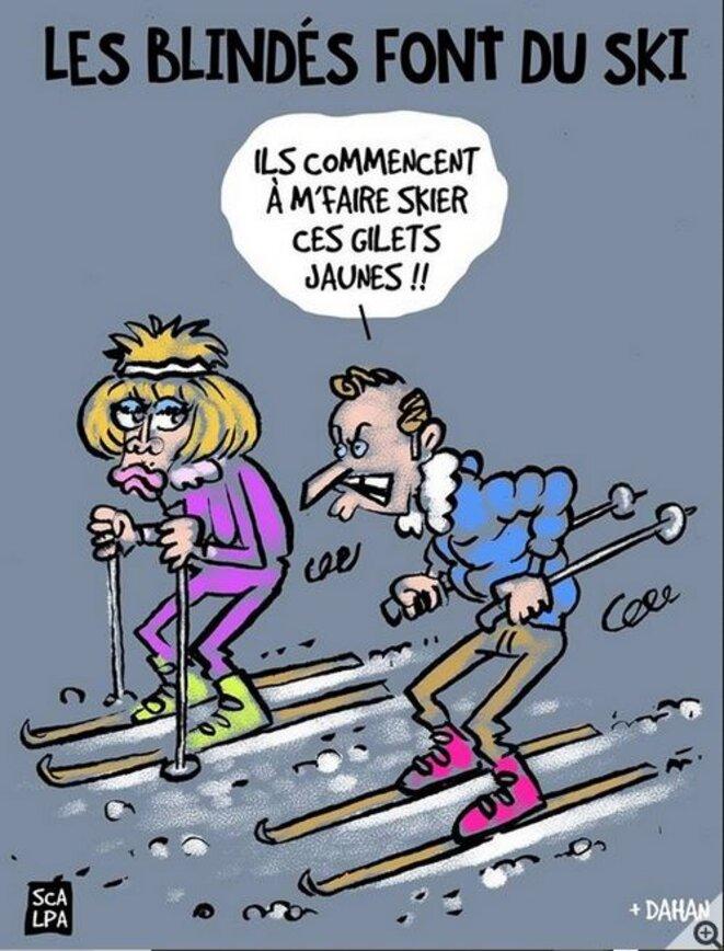 les-blindes-ou-crons-vont-au-ski