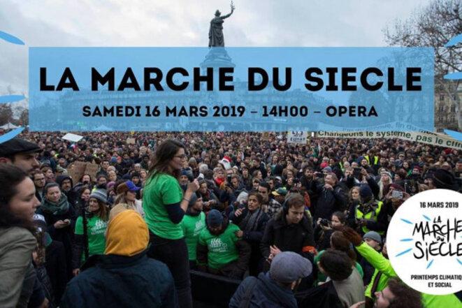 Marche pour le climat, le 16 Mars 2019 à Paris