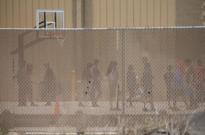 Menores detenidos en la Casa Padre, en Brownsville (Texas). Aquí en junio de 2018. © Reuters