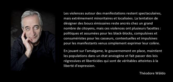 Violence et amalgames © THÉODORE WÅLDO
