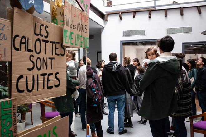 À la Base, le 10 mars 2019. © Clément Tissot