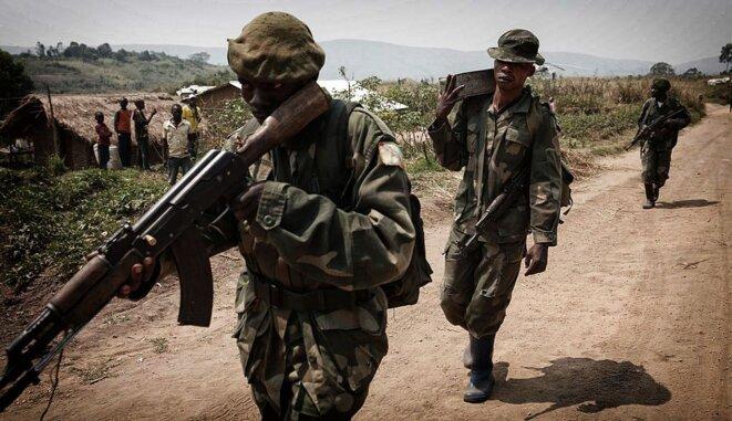 Armée congolaise en Ituri © Monusco
