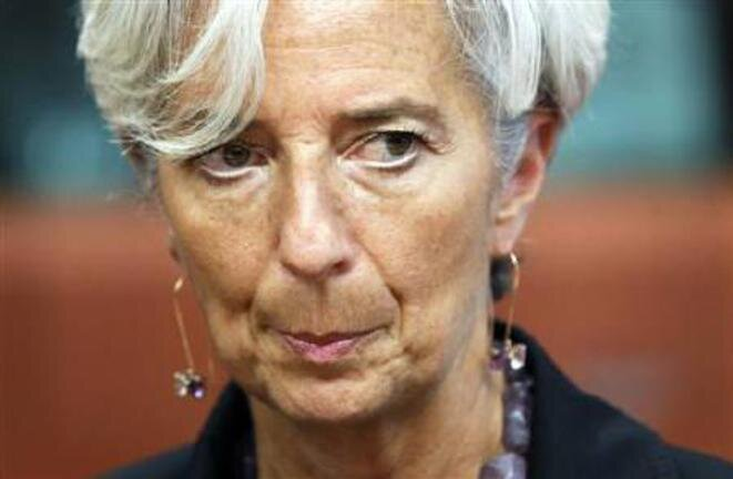IMF chief and former French economy and finance minister Christine Lagarde. © Reuters