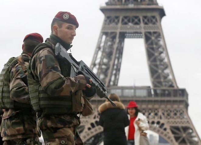 Militaires, opération Sentinelle. © Reuters