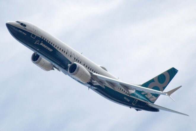 Boeing 737 max 8 © pjs2005 sur flickr