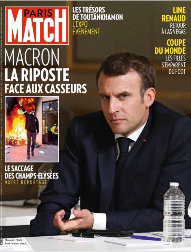 Paris-Match N° 3645 DU 21 AU 27 MARS 2019