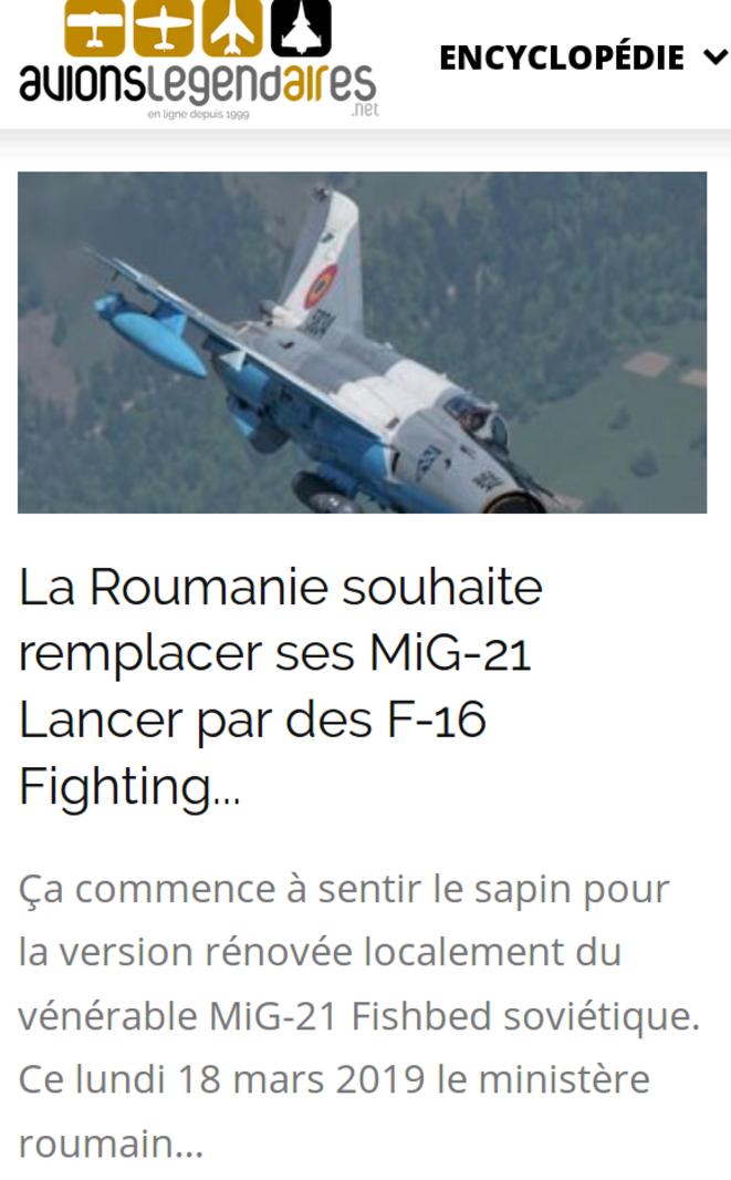 https://www.avionslegendaires.net/2019/03/actu/la-roumanie-souhaite-remplacer-ses-mig-21-lancer-par-des-f-16-fighting-falcon/