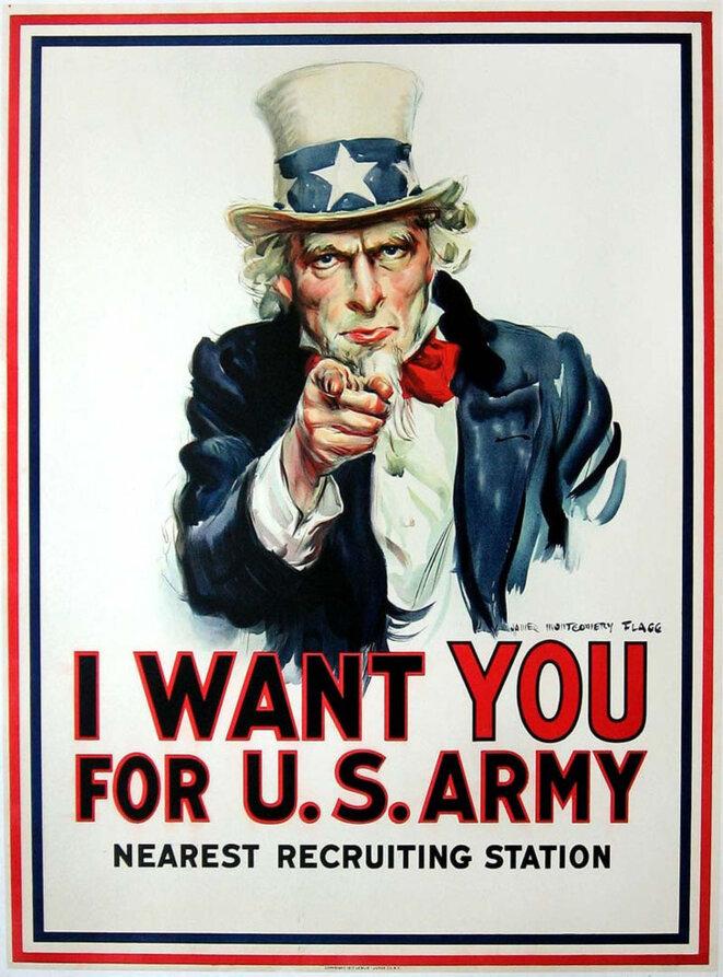 James Montgomery Flagg, affiche de 1917