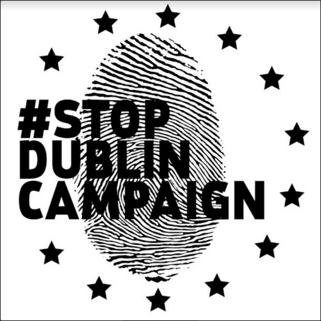 Logo STOP DUBLIN © Campagne pour les Européennes