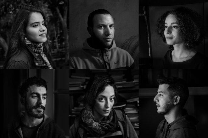 Six récits d'une jeunesse algérienne en ébullition. © Romain Laurendeau