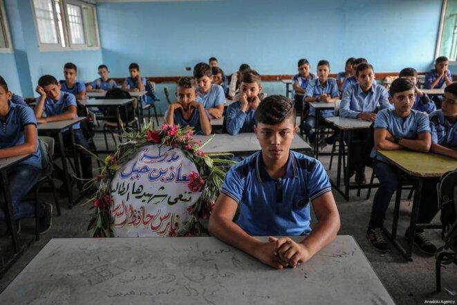 Un fil de discussion en mémoire des victimes en Palestine Enfantspalestiniens