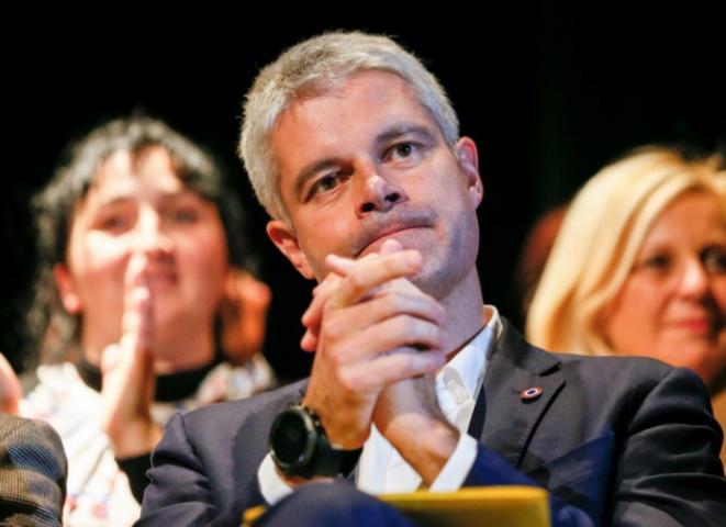 Laurent Wauquiez, président de la Région Auvergne-Rhône-Alpes. © Reuters