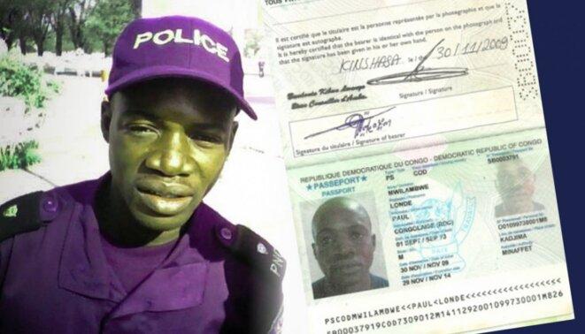 Le major Paul Mwilambwe © DR