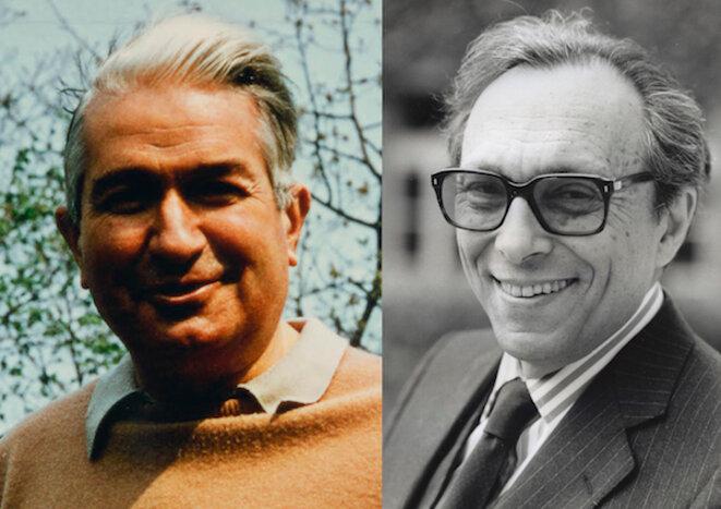 Jean-Pierre Richard et Jean Starobinski