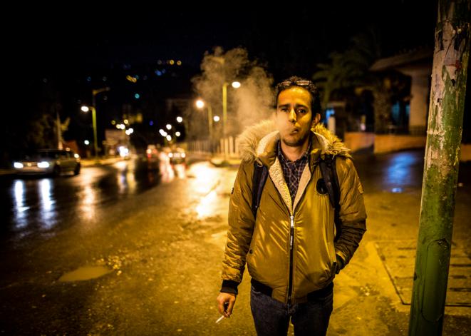 Micipsa Didouche est étudiant en management et militant associatif. © Sadak Souici