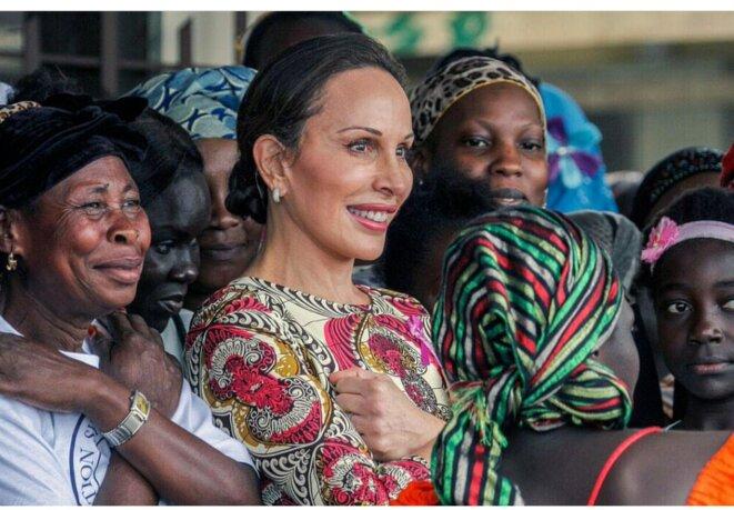 Mme Sylvia Bongo Ondimba, épouse du Président Gabonais