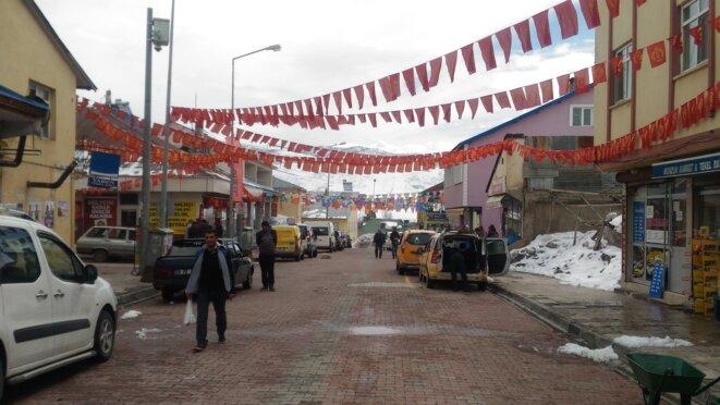 Dans les rues d'Ovacik. © NC