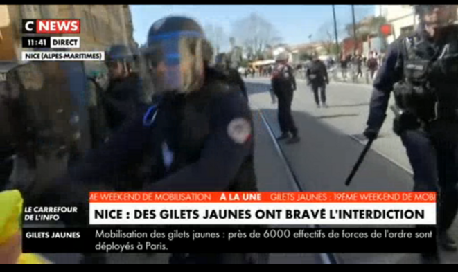 © Capture d'écran CNews