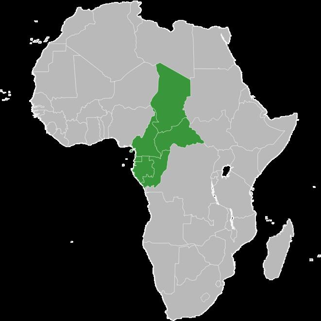 Etats membres de la CEMAC
