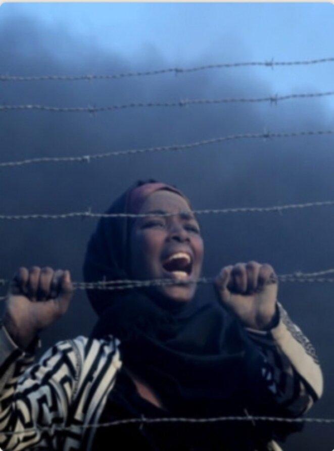 RENNES: GAZA ANNIVERSAIRE DE LA MARCHE DS MES RETOURS - Samedi 30 mars 2019 - © EXEQUATUR - E'M.C.