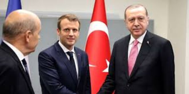 macron-erdogan