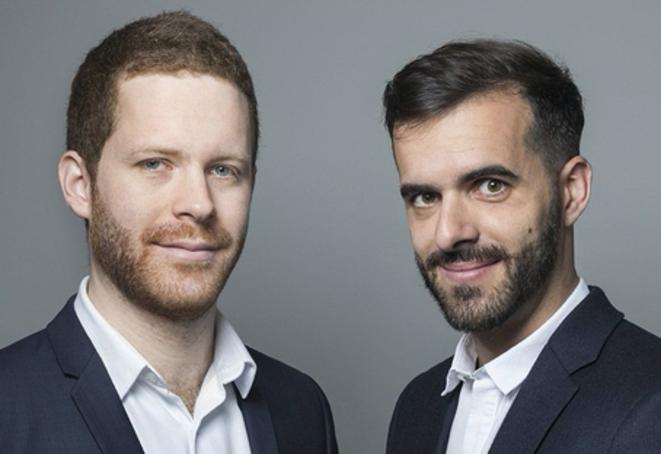 David Amiel et Ismaël Emelien. © DR