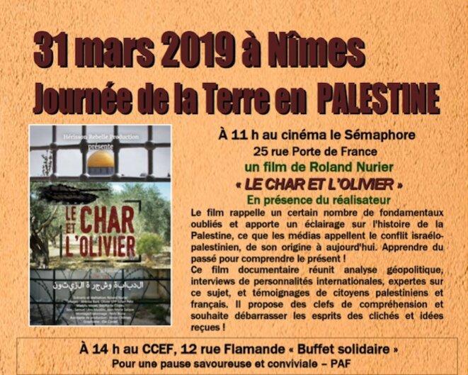 LE CHAR ET L'OLIVIER FILM DOCU DE ROLAND NURIER - À 11H AU CINÉMA LE SÉMAPHORE - 25, PORTE DE FRANCE À NÎMES © EXEQUATUR AFPS NÎMES - E'M.C.