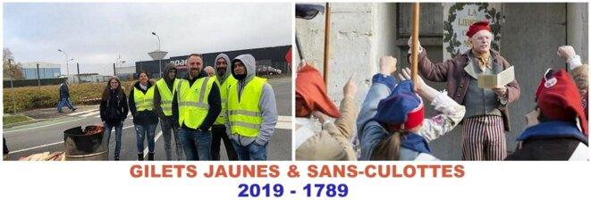 Gilets Jaunes et Sans-culottes © Pierre Reynaud